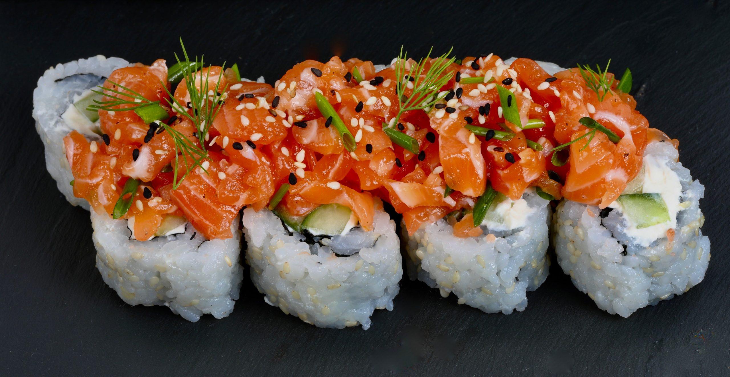 signature tartare de saumon